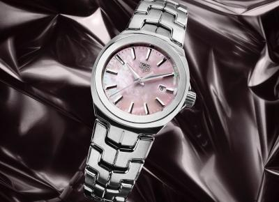 Eman says: Tag Heuer Link Lady Pink Quartz